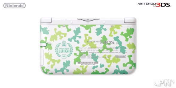 3DS XL luigi au japon et animal crossing EUROPE 3DS XL 516eb411