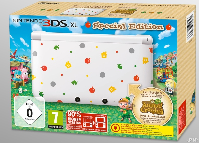 3DS XL luigi au japon et animal crossing EUROPE 3DS XL 516ebf10