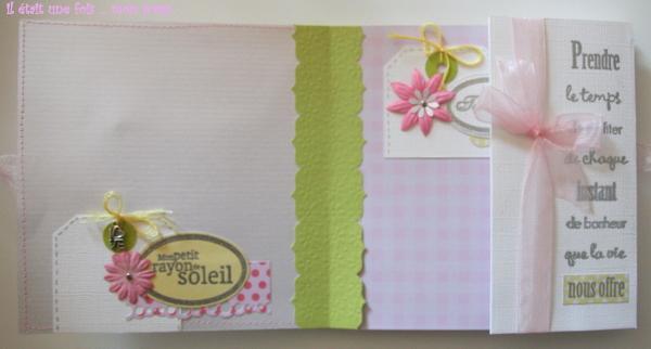 FRED EN AVRIL - boîte cadeau de naissance 60110