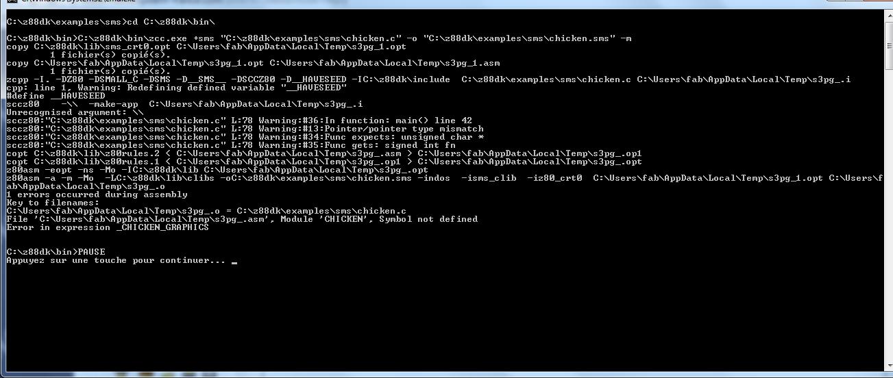 Programmation Master System en Assembleur + variante en C - Page 2 Chicke10