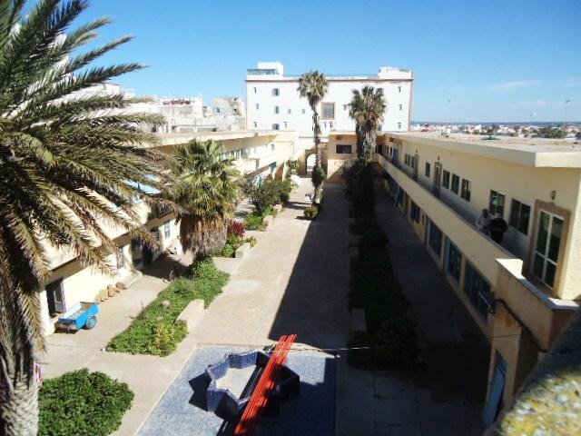 Essaouira- Mogador :Jamais vue de ce coin par oulad lablad :la terrasse du Bastion de Bab Marrakeche : Dsc05120