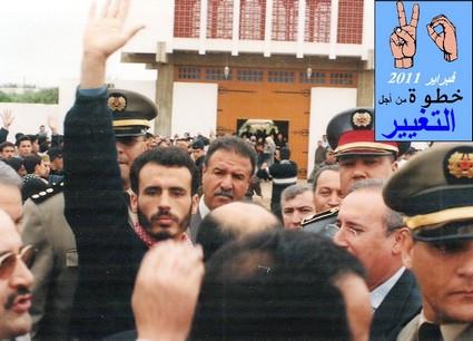 La marche d Essaouira le 20/1/2011 Saidbe10