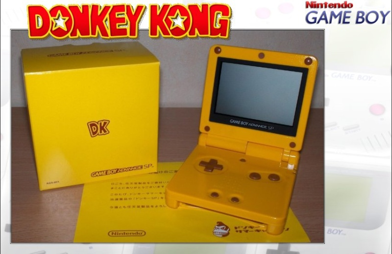 GAMEBOY ADVANCE SP : Edition DONKEY KONG Donkey12