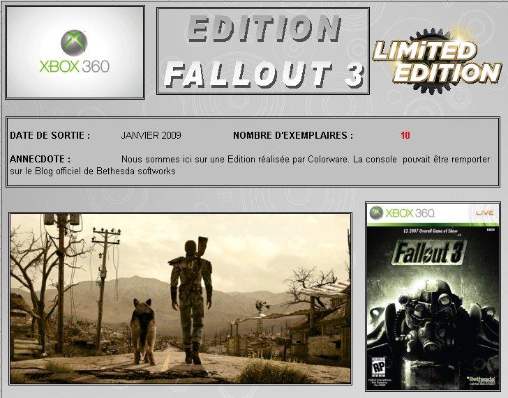 XBOX 360 : Edition FALLOUT 3 Fallou10
