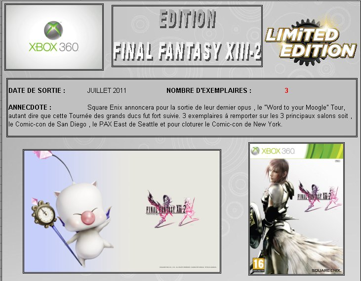 XBOX 360 : Edition FINAL FANTASY XIII-2 Final_10