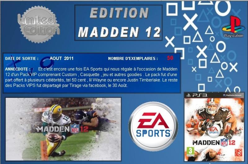 PLAYSTATION 3 : Edition MADDEN 12 Madden10