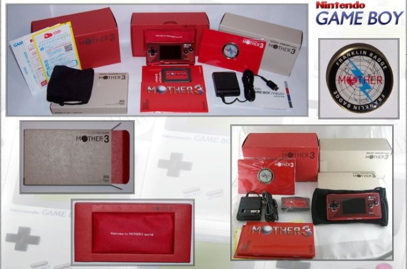 GAMEBOY MICRO : Edition MOTHER 3 Mother11