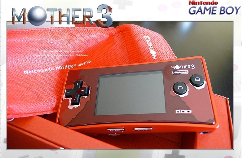 GAMEBOY MICRO : Edition MOTHER 3 Mother12