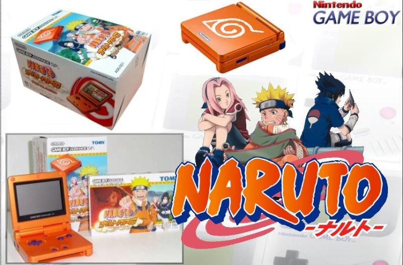 GAMEBOY ADVANCE SP : Edition NARUTO Naruto11