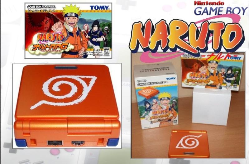 GAMEBOY ADVANCE SP : Edition NARUTO Naruto12