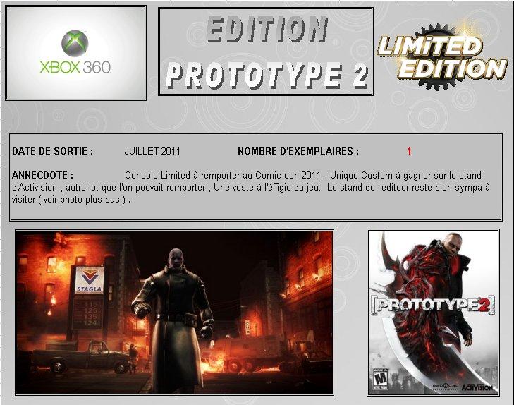 XBOX 360 : Edition PROTOTYPE 2 Protot10