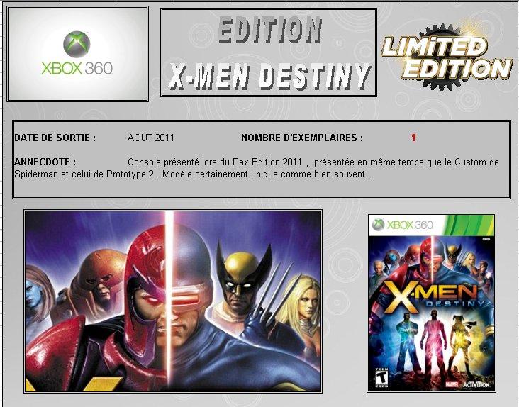 XBOX 360 : Edition X-MEN DESTINY  Xmen_d10