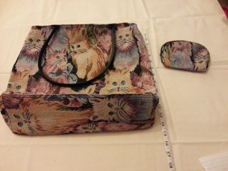CAT BAG & PURSE 2013-041