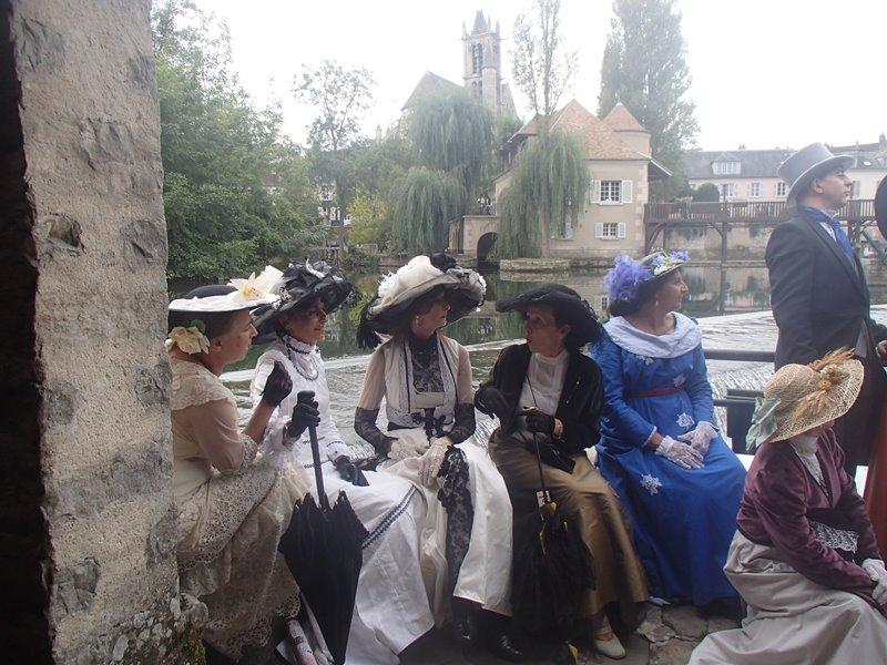 Fete 1900 a Moret sur Loing ( 77) les photos P9281211