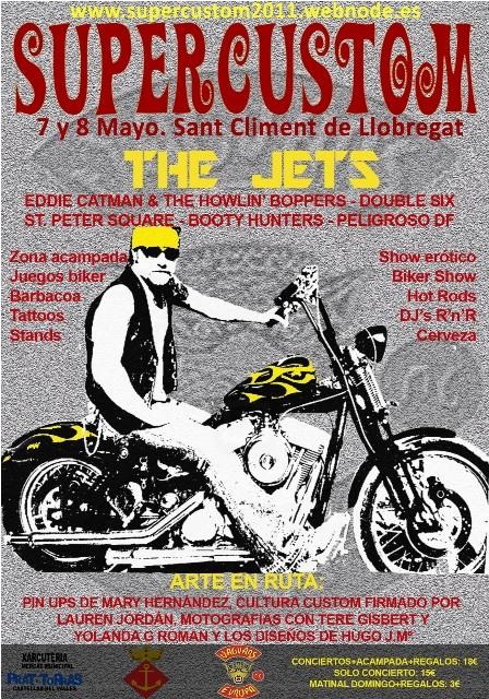 7 y 8 Mayo IV SUPERCUSTOM 2011 Cartel10