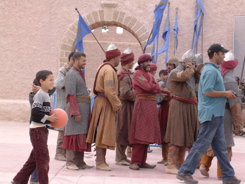 "tournage du film""kingdom of heaven"" 39king10"