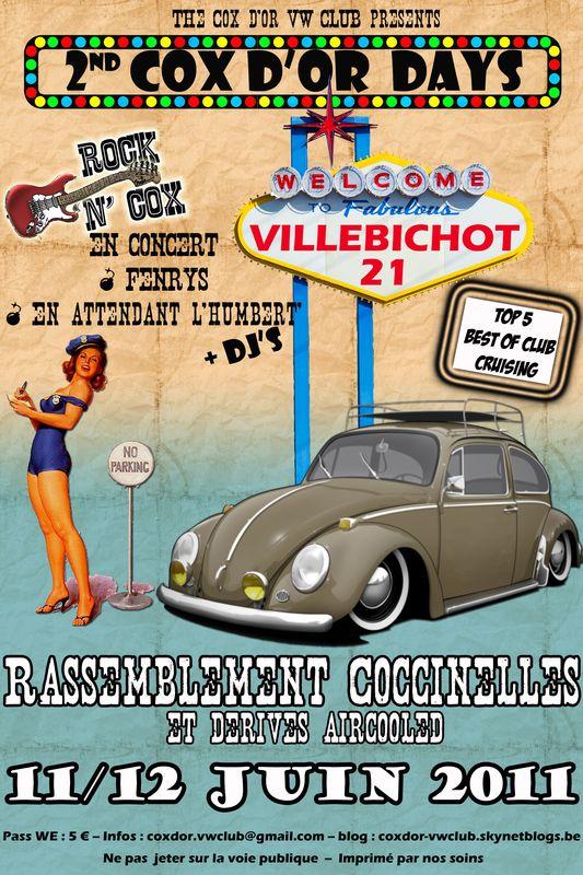 2ème Cox d'Or Days à Villebichot (21) -- 11/12 JUIN 2011 Flyer810
