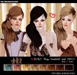 Женские прически (длинные волосы) Ddddnd14