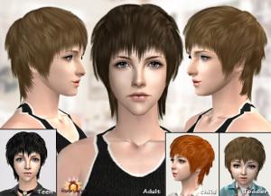 Мужские прически (короткие волосы, стрижки) - Страница 4 Ddddnd20