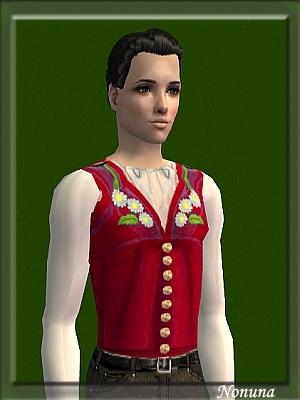 Старинные наряды, костюмы Image220