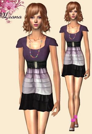 Повседневная одежда (платья, туники, комплекты с юбками) - Страница 3 Image246