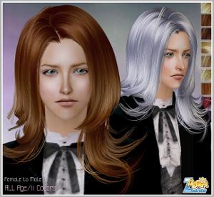 Мужские прически (длинные волосы) Image483