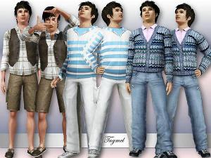 Повседневная одежда (комплекты с брюками, шортами)   Image494