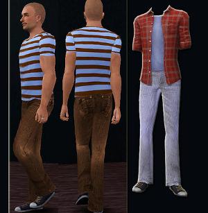 Повседневная одежда (брюки, шорты) Image501