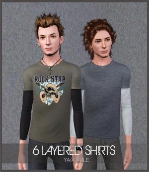 Повседневная одежда (свитера, футболки, рубашки) - Страница 6 Image538