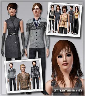 Повседневная одежда (комплекты с брюками, шортами)   Image541