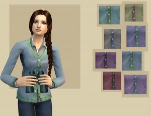 Повседневная одежда (топы, блузы, рубашки) Image942
