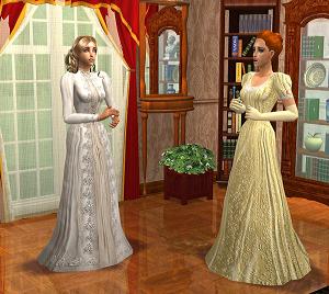 Старинные наряды Image961
