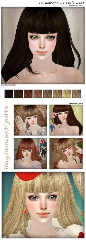 Женские прически (длинные волосы) - Страница 3 Untitl10