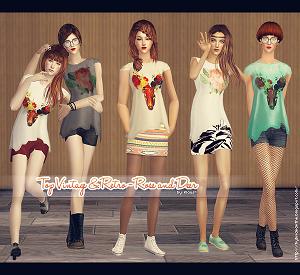 Повседневная одежда (топы, блузы, рубашки) - Страница 3 W-600274