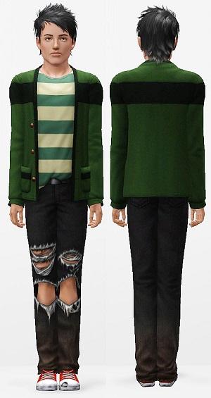 Повседневная одежда (комплекты с брюками, шортами)   - Страница 3 W-600278