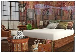 Спальни, кровати (модерн) - Страница 21 W-600365