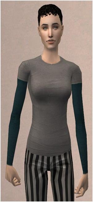 Повседневная одежда (топы, блузы, рубашки) - Страница 4 W-600430