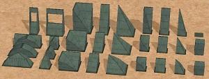 Дворовые объекты, строительный декор - Страница 5 W-600501