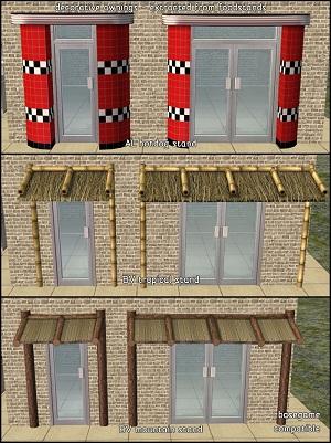 Дворовые объекты, строительный декор - Страница 5 W-600530