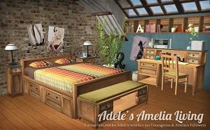 Спальни, кровати (деревенский стиль) - Страница 5 W-600h16