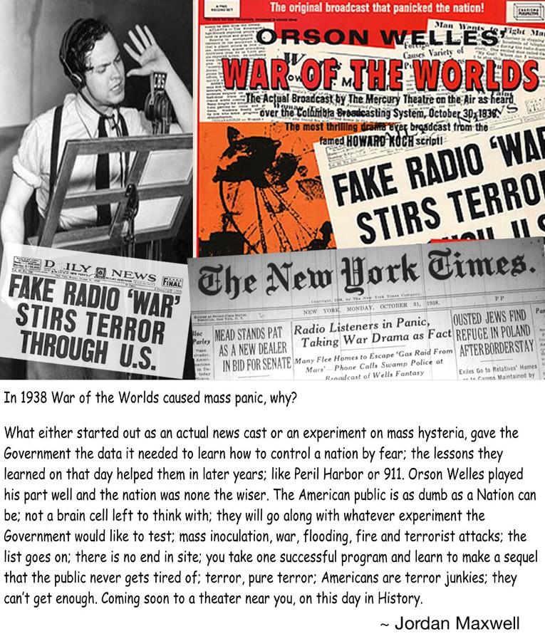 Rat Svetova (The War Of The Worlds - Orson Welles Radio Broadcast) (1938) Orsonw10