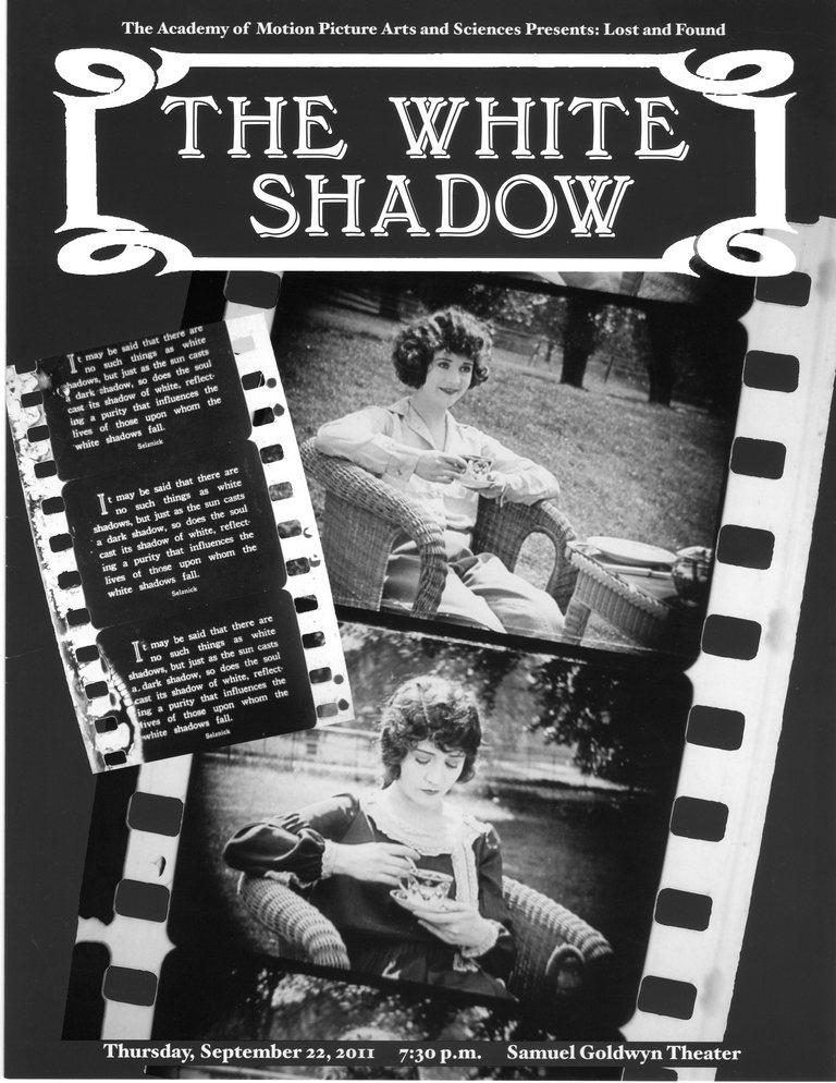 Bela Senka (The White Shadow) (1924) White-10