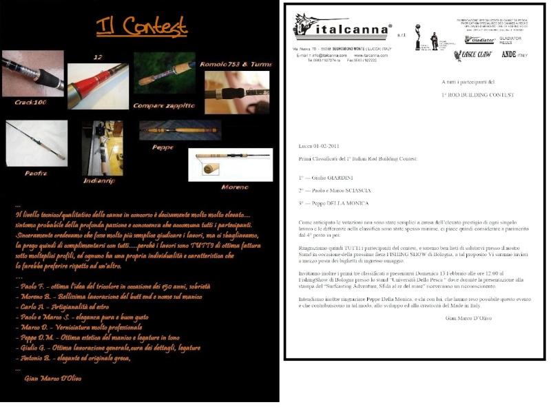 *** Le Opere del Contest *** Contes11
