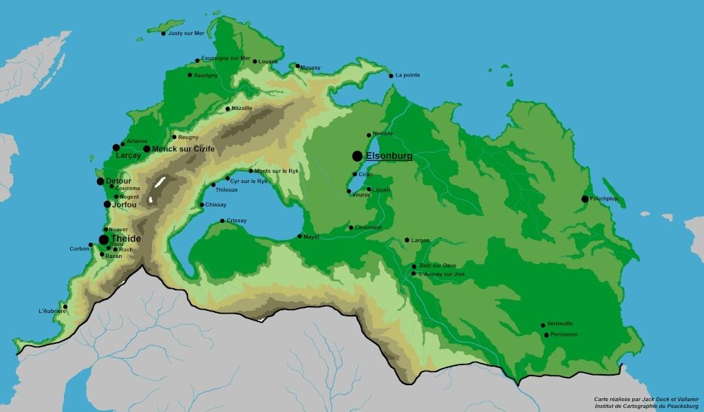 Hydrographie - République de Mandelsy Carte_10