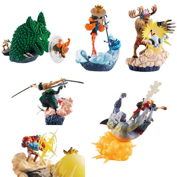 [Figurine] Log Box - Sorezore no Seichou Hen (One Piece) Fig-co10