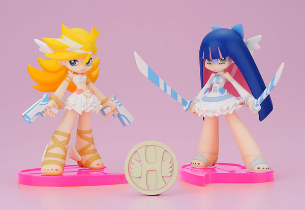 [Figurine] Phat Company - Twin Pack+ Panty & Stocking with Heaven Coin Angel Ver.(Panty & Stocking with Garterbelt ) Fig-m131