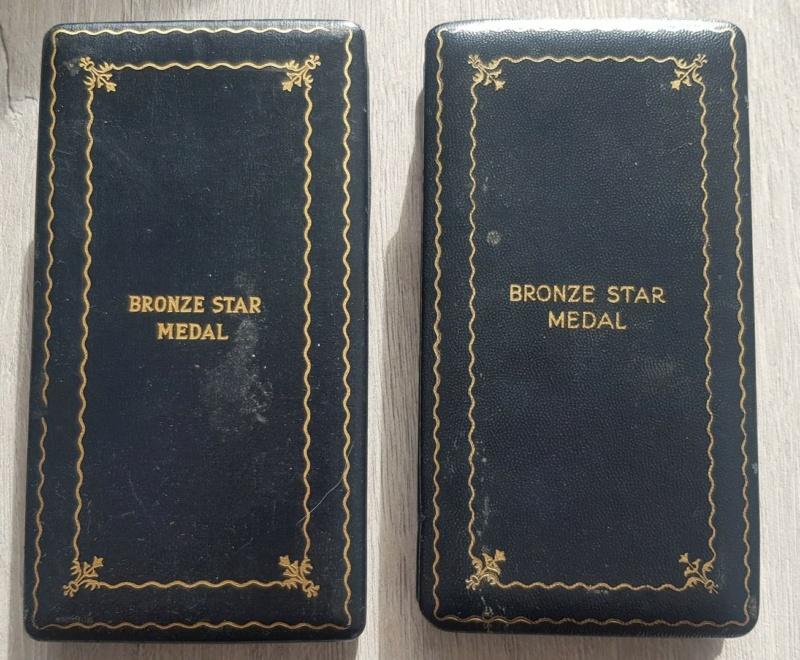 Estimation BRONZE STAR attribuée en écrin + non attribuée Bronze11