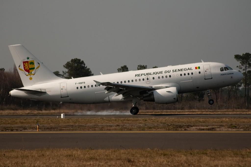 Les exclusivités sur Bordeaux-Mérignac, les plus beaux avions 20110310