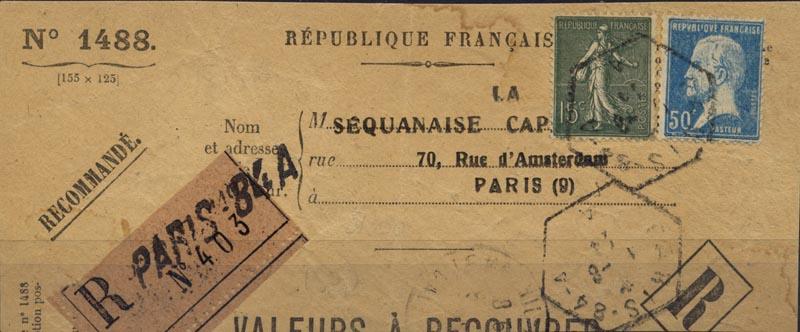 Valeur à recouvrer 19240810