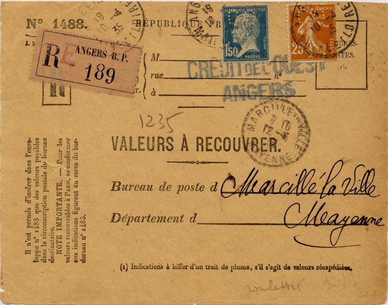 Valeur à recouvrer 19350410